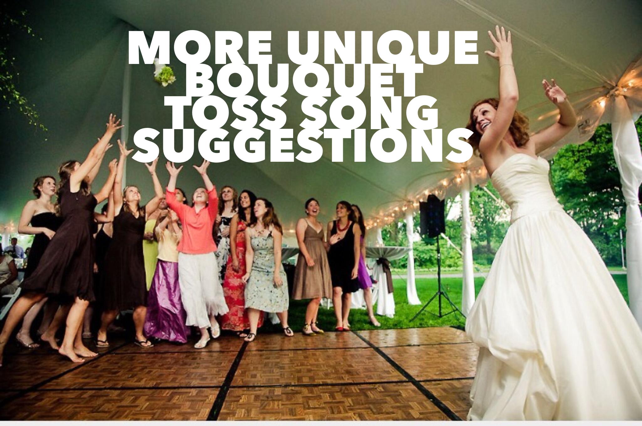 More Unique Bouquet Toss Songs Suggestions - Bouquet Toss PNG