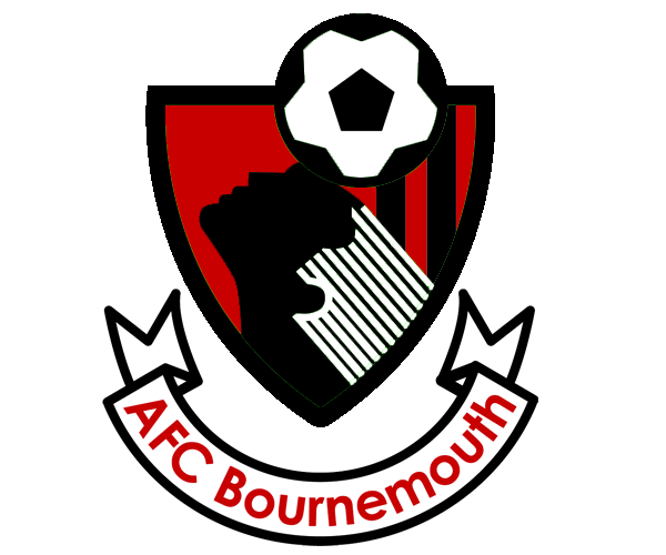 Bournemouth Fc Logo Vector PNG - 29624