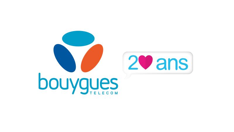 Pour ses 20 ans, Bouygues Telecom 1er opérateur de la 4G illimitée et  couvre ses - Bouygues Telecom Logo PNG