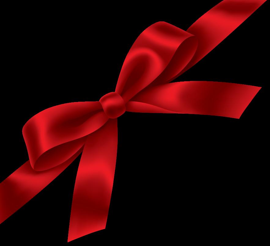 Christmas Ribbon Png Hd PNG Image - Bow HD PNG