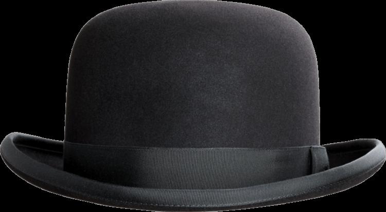 Bowler Hat PNG HD