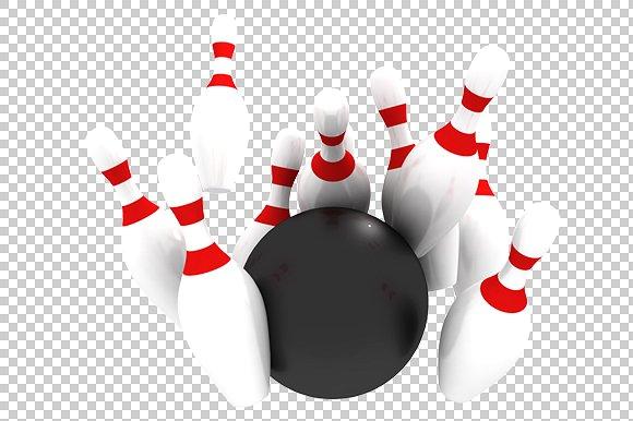 Bowling - 3D Render PlusPng.com  - Bowling PNG