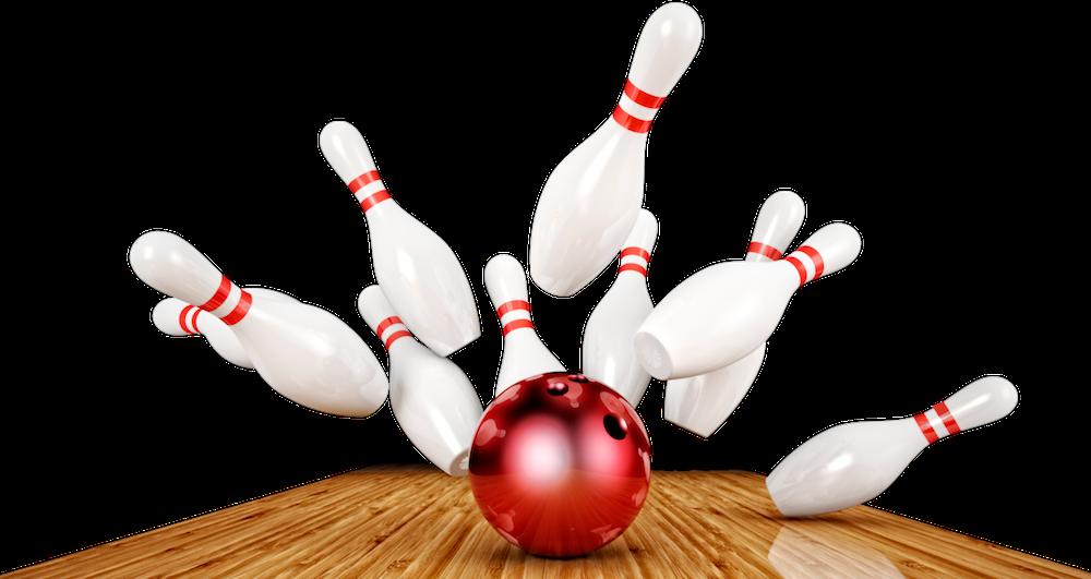 Bowling Pins Transparent