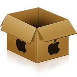 128x128 px, Apple Box Icon 256x256 png - Box PNG HD
