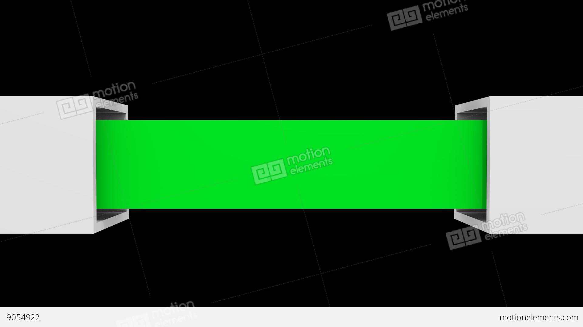 green open box PNG Stock Video Footage - Box PNG HD