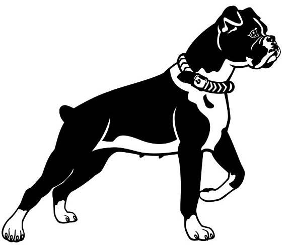#3 Boxer Hunderasse k-9 Tier Haustier Hund. SVG. EPS. PNG sofortigen  digitalen Clipart Vektor Cricut Schnitt schneiden Download druckbare  Scrapbook-Datei - Boxer Hund PNG