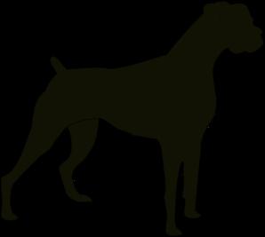 Boxer Silhouette clip art - vector clip art online, royalty free u0026 public  domain - Boxer Hund PNG