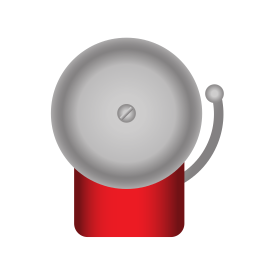 Boxing Bell Icon - Boxing Bell PNG