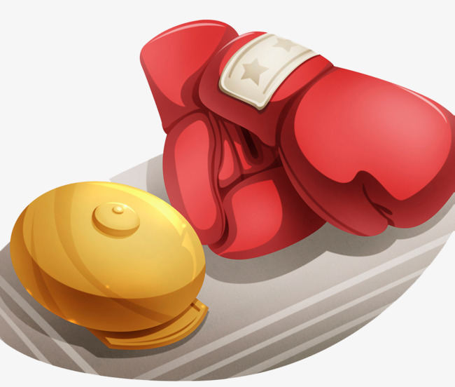 boxing game, Muay Thai, Match Bell, Boxing Match PNG and PSD - Boxing Bell PNG