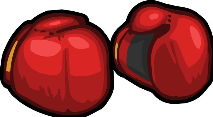 Boxing Gloves render.png - Boxing Bell PNG