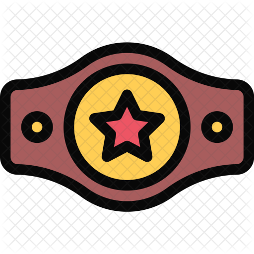 Boxing, Belt, Athlete, Fitness, Gym, Sport, Training Icon - Boxing Belt PNG
