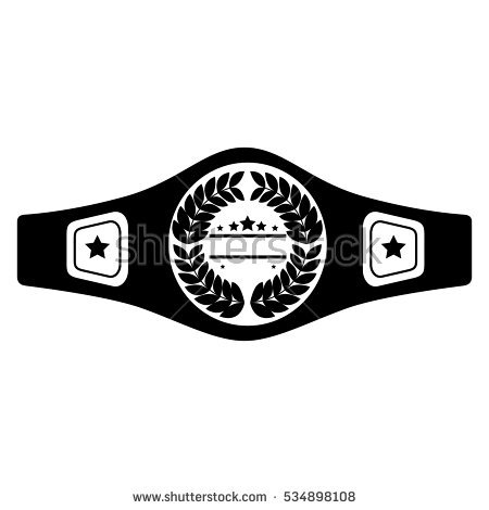 boxing belt isolated icon - Boxing Belt PNG