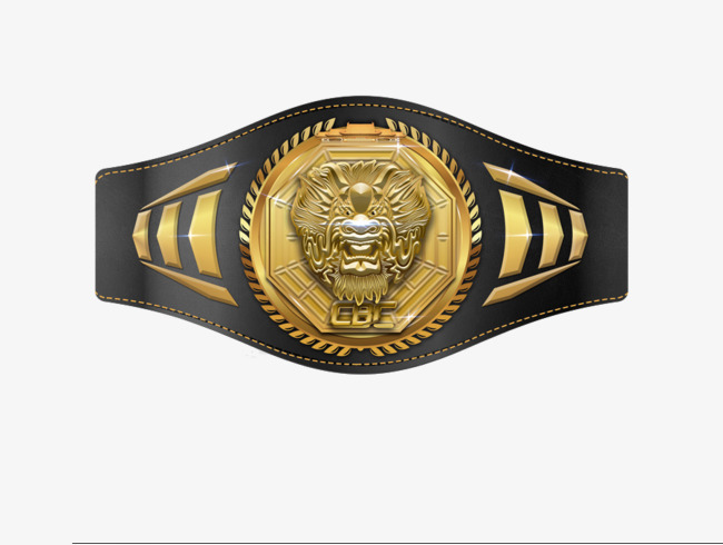 Boxing Belt PNG - 153045