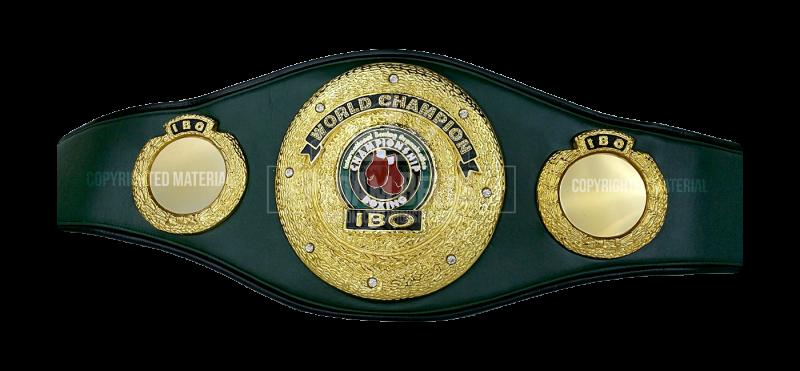 Boxing Belt PNG - 153044