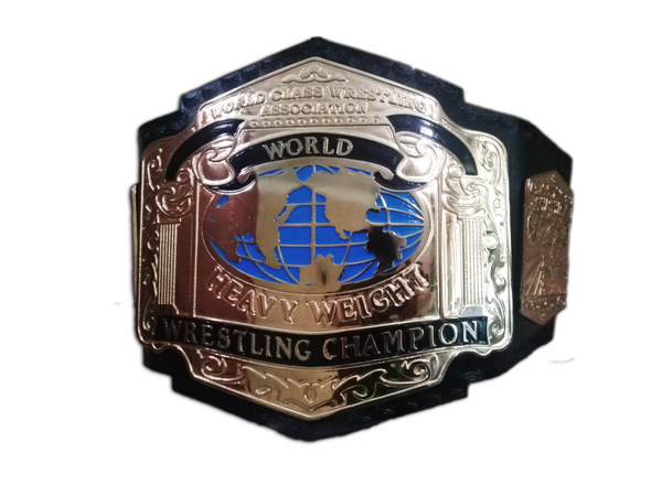 WCWA World Heavyweight Wrestling Champion Belt SSQUARE INTL is proud to  have created this work of art for the WCWA World Heavyweight Champion Belt. - Boxing Belt PNG