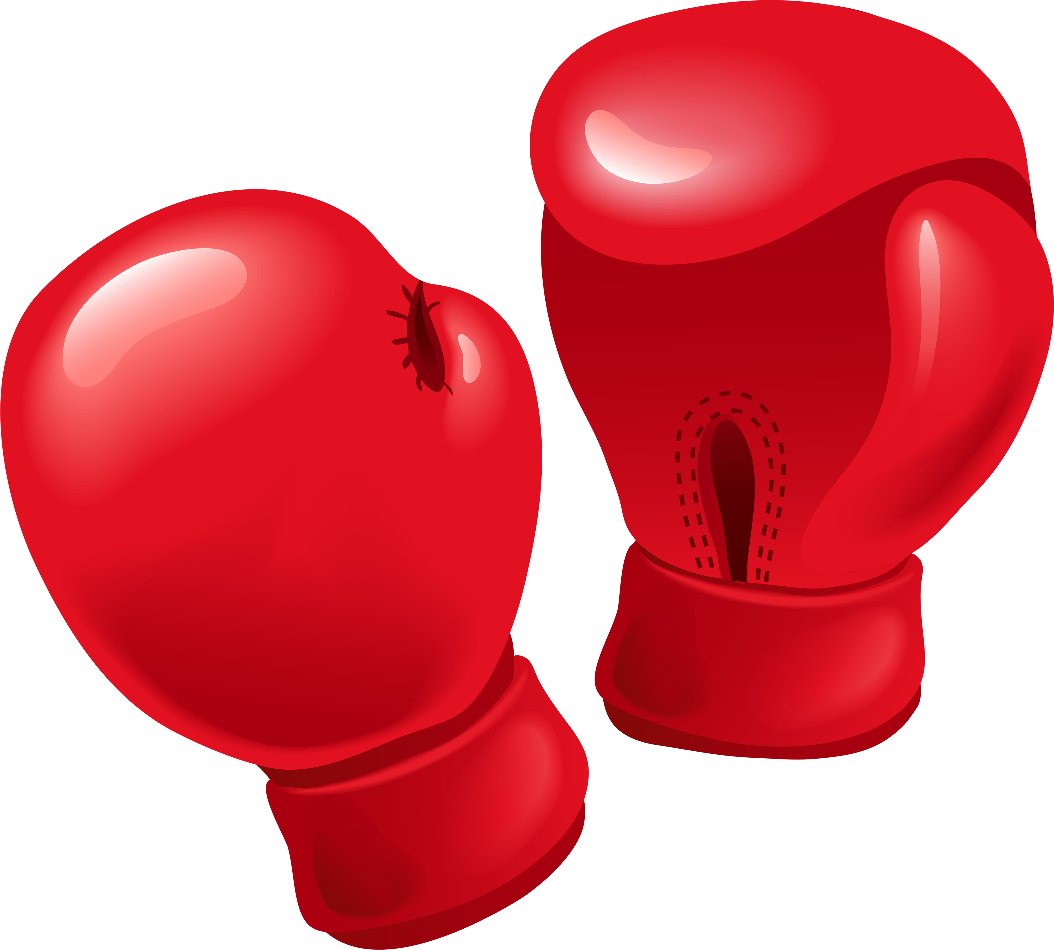 Red Boxing Gloves PNG Image - Boxing HD PNG