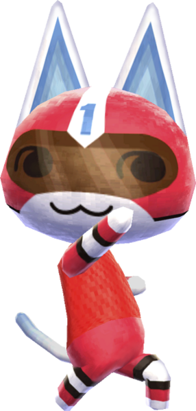 -Kid Cat - Animal Crossing New Leaf.png - Boy And Cat PNG