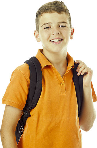 school_slider_boy.png - Boy At School PNG