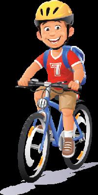 Boy Bike PNG - 143343