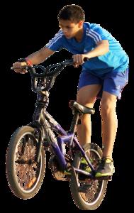 Boy Bike PNG - 143341