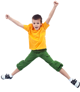 Party Packages starting $149 in our Open jump area !! Bumper Cars, Rock  wall, Arcade and more !! - Boy Jumping PNG HD