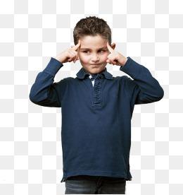 Boy Thinking PNG HD - 139163