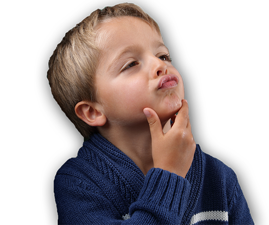 Boy Thinking PNG HD