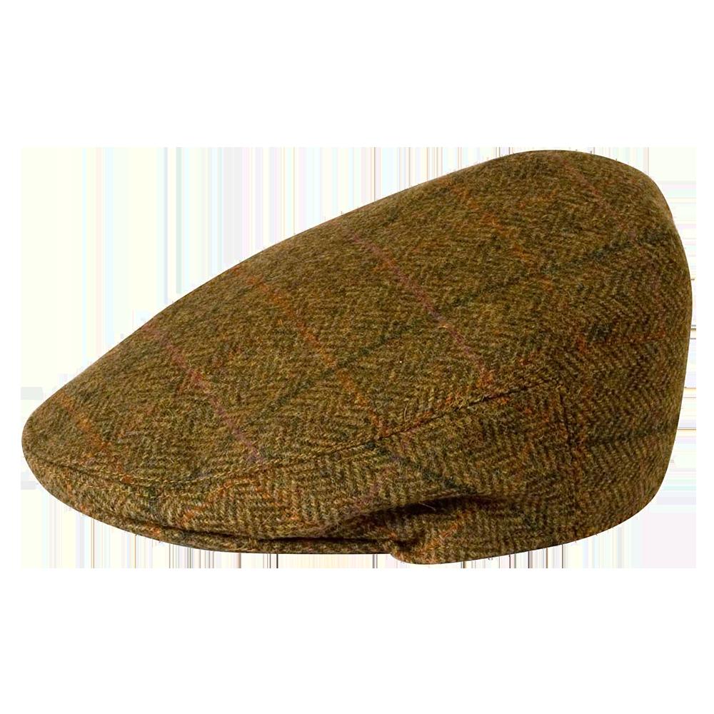 Gamble u0026 Gunn British Tweed Flat Cap - Boy With Hat PNG