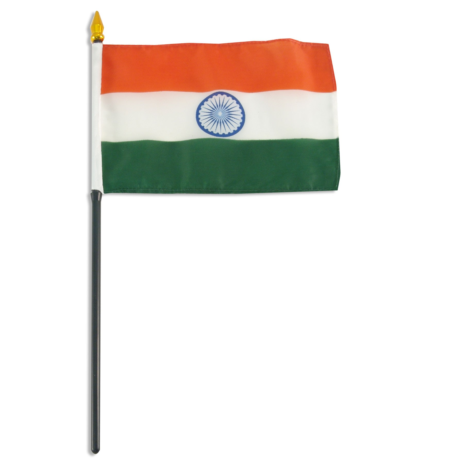 Boy With Indian Flag PNG - 158254