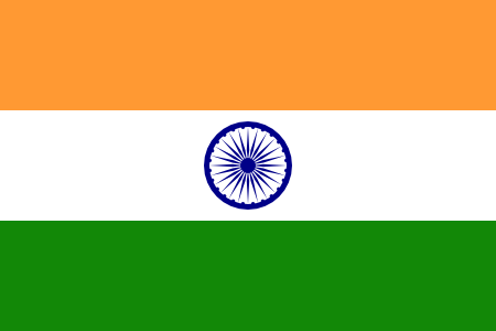 Boy With Indian Flag PNG - 158258