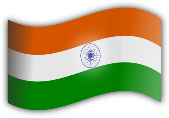 Boy With Indian Flag PNG - 158256