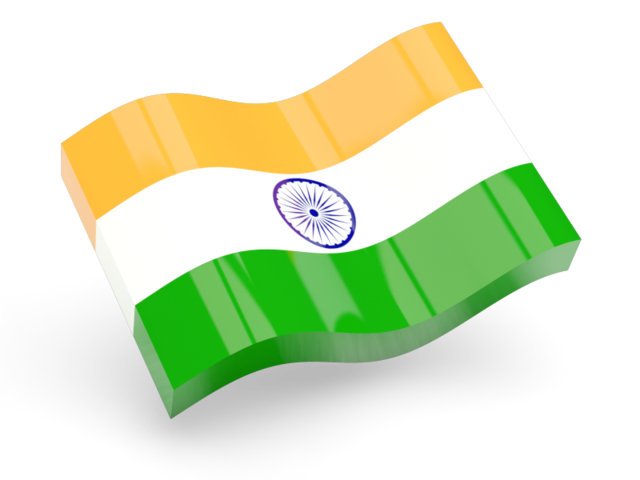 Boy With Indian Flag PNG - 158253