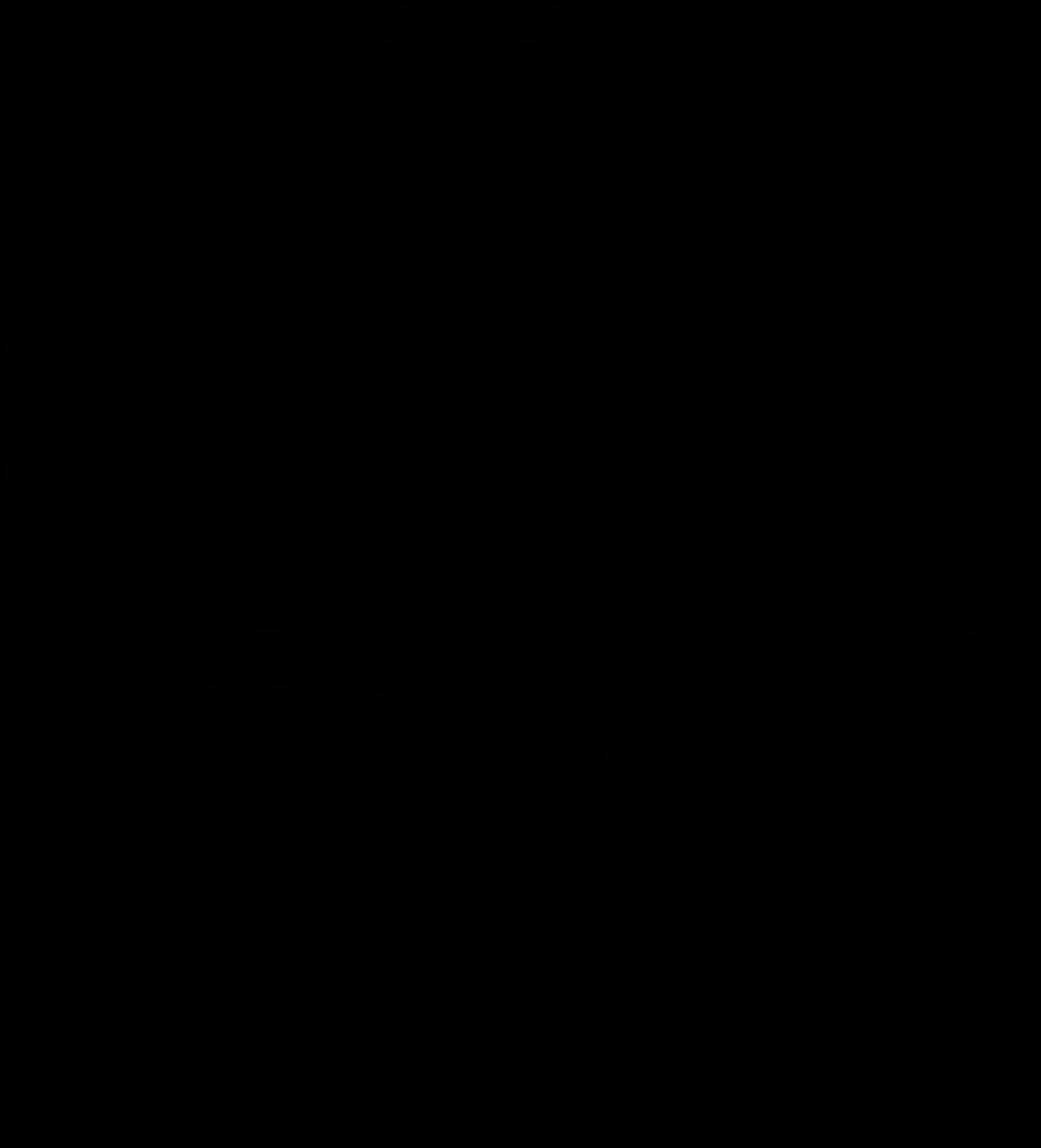 Clipart Man Light Bulb Brain - Brain PNG