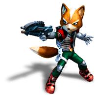 Brawl Sticker Fox (Star Fox Assault).png - Star Fox PNG