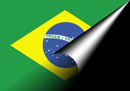 Brazil-flag-paper.png PlusPng.com  - Brazil PNG