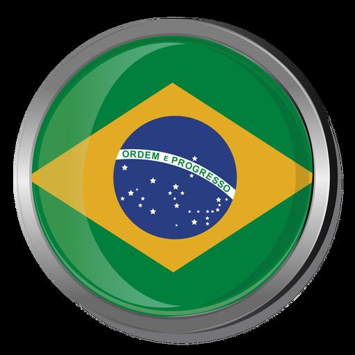 Brazil round flag png - Brazil PNG