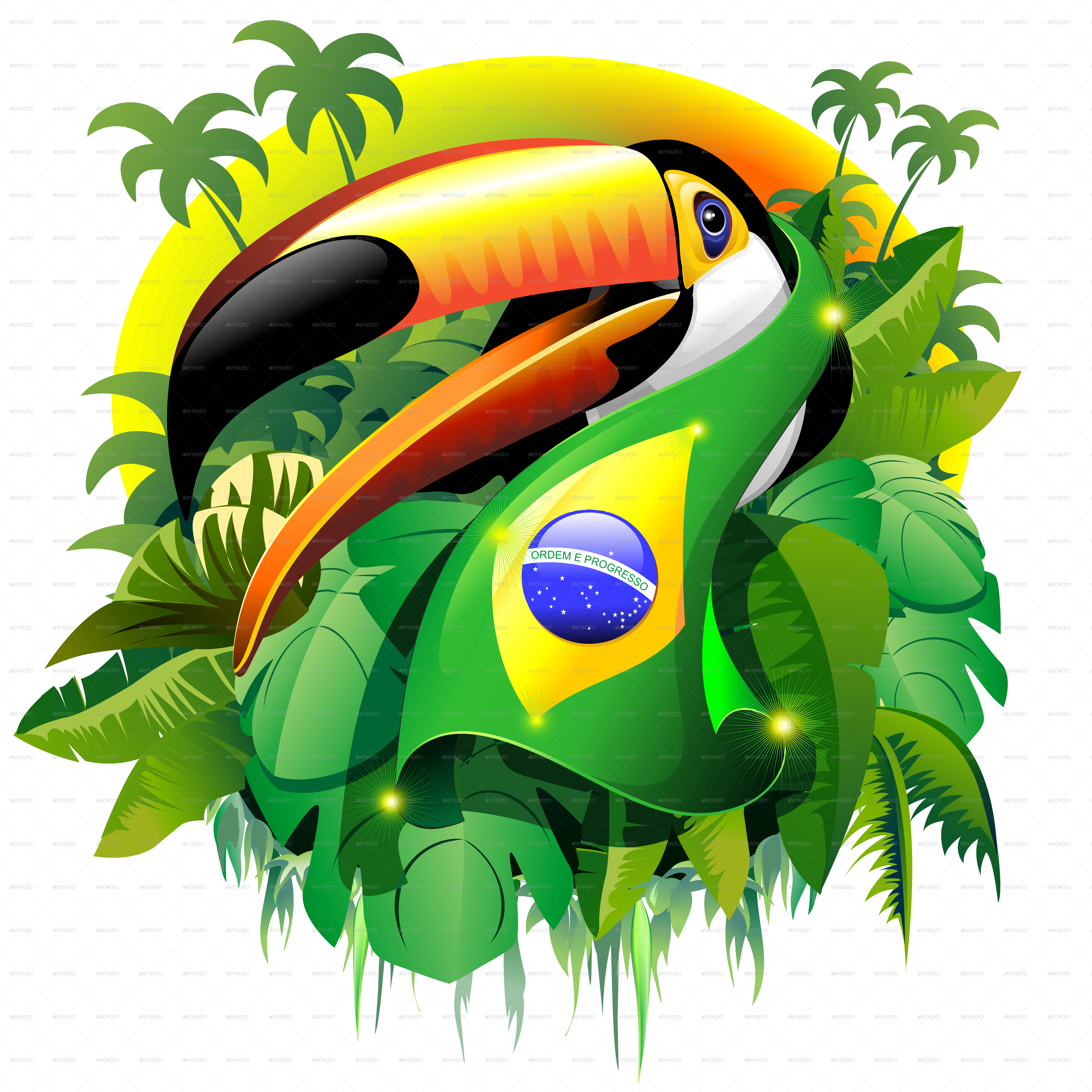 . PlusPng.com Toucan Brazil-PNG 5000.png - Brazil PNG