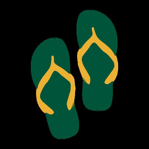 Travel brazil sandals flag - Brazil PNG