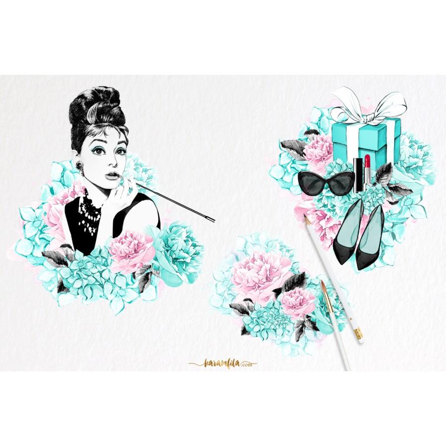 Breakfast At Tiffanys Clip Art - 58605