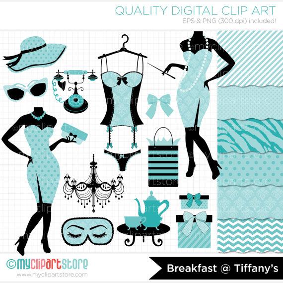 Breakfast At Tiffanys Clip Art - 58606