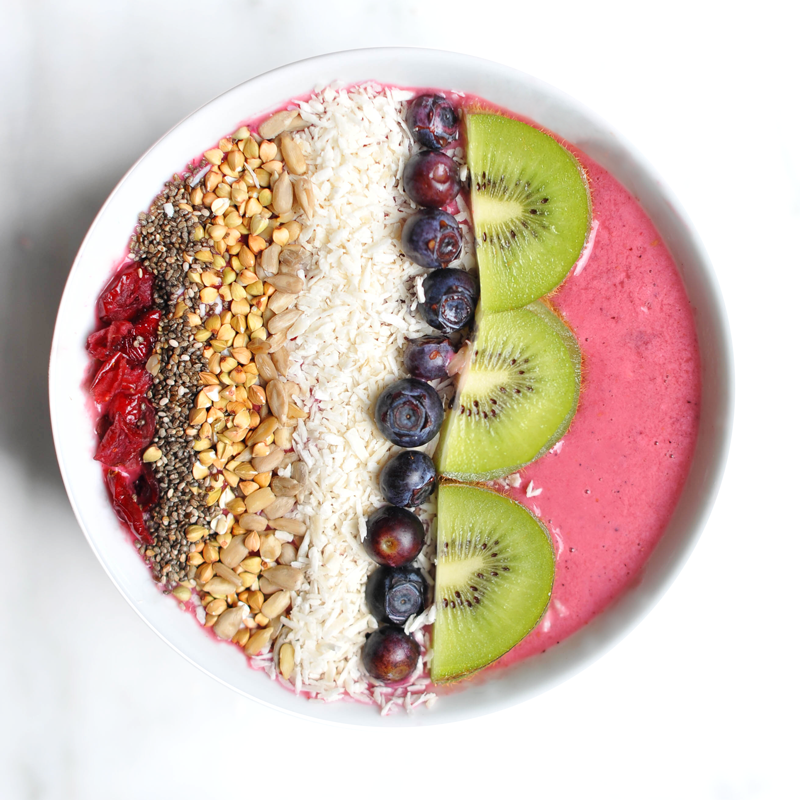 Acai Protein Power Breakfast Bowl - Breakfast Bowl PNG
