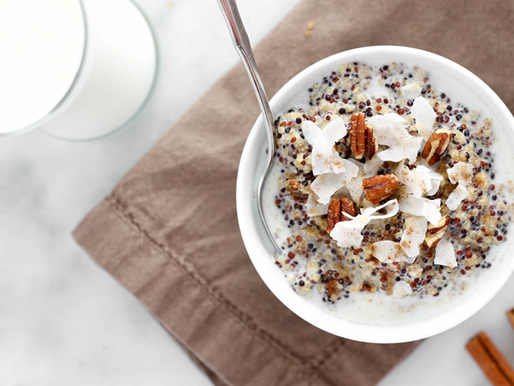 Chai Quinoa Protein Breakfast Bowl - Breakfast Bowl PNG