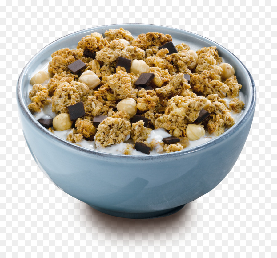 Muesli Breakfast cereal Corn flakes Granola - cereal bowl - Breakfast Bowl PNG