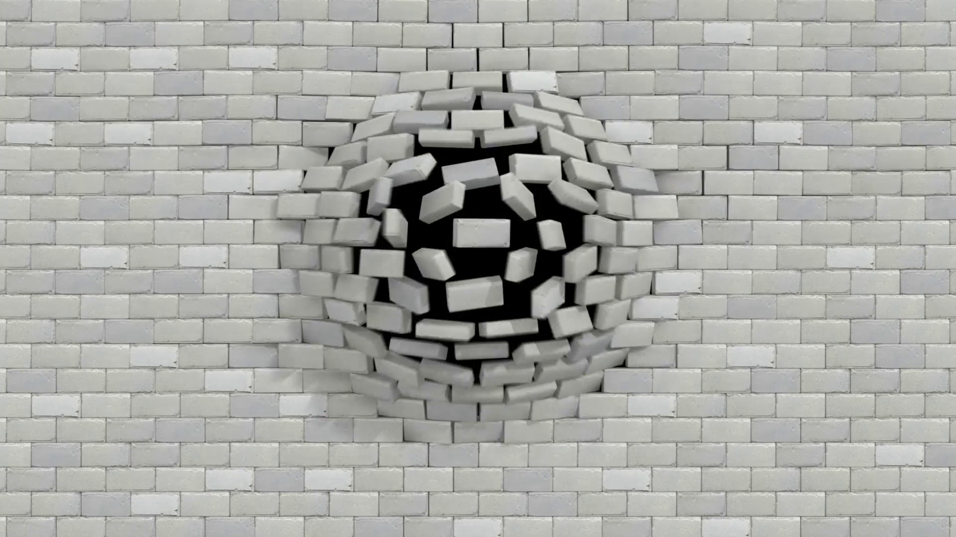 Breaking Through Brick Wall PNG - 162462