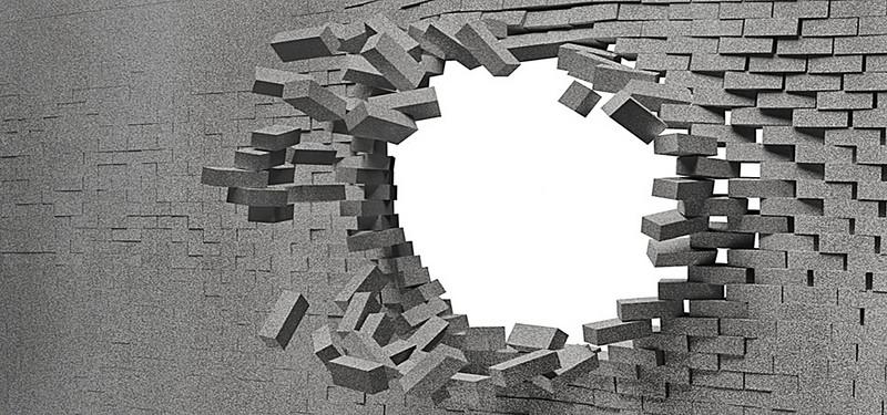 Breaking Through Brick Wall PNG - 162454