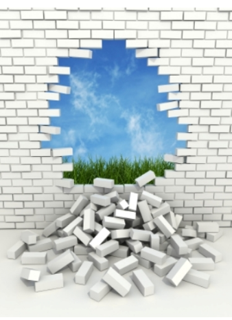 Breaking Through Brick Wall PNG - 162457