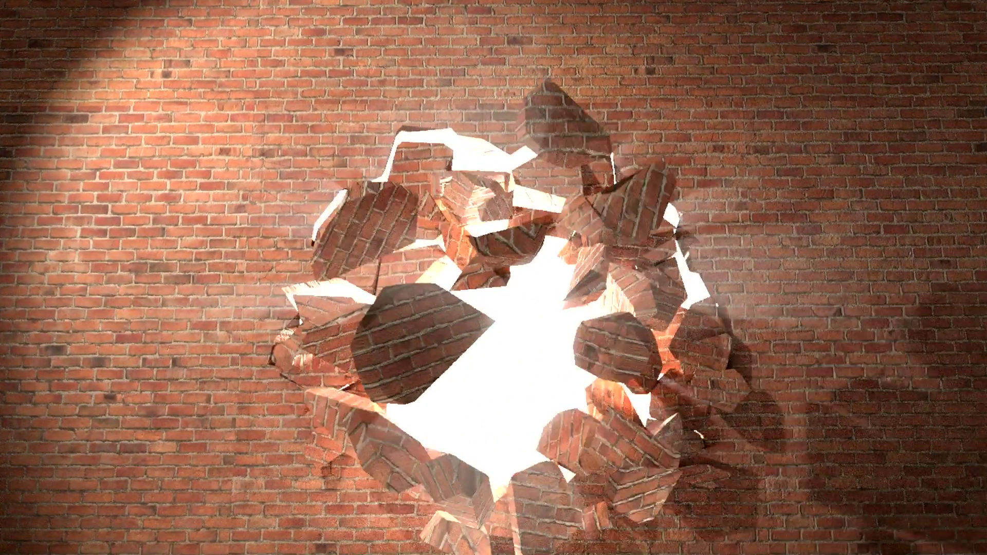 Breaking Through Brick Wall PNG - 162453