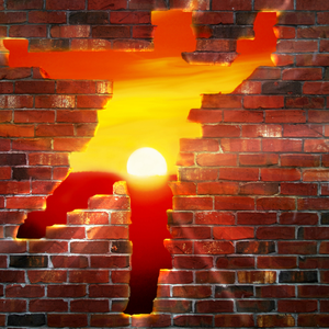 Breaking Through Brick Wall PNG - 162467