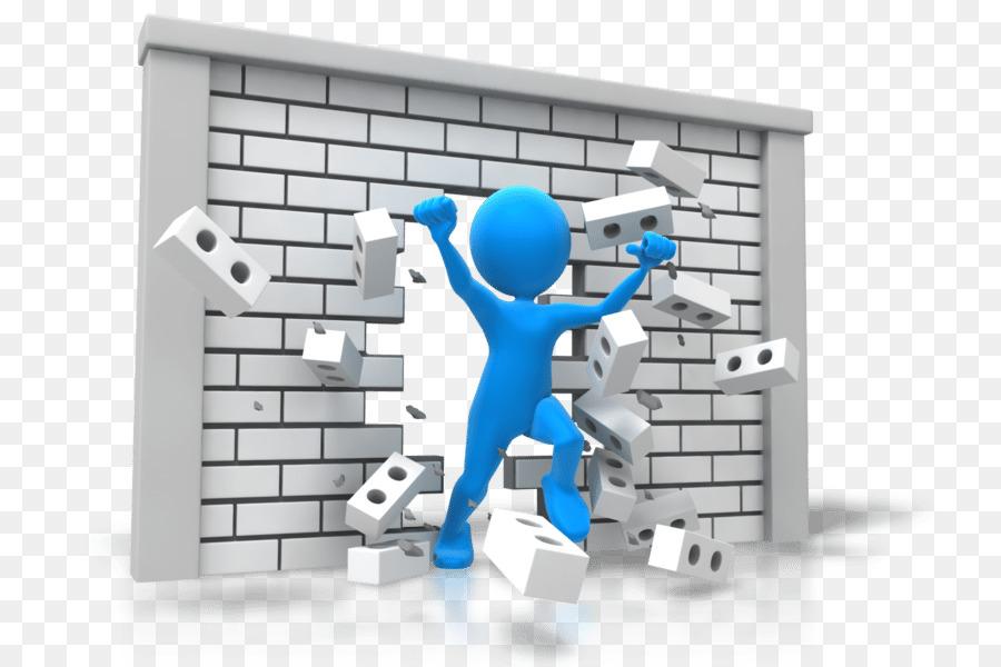 Breaking Through Brick Wall PNG - 162466