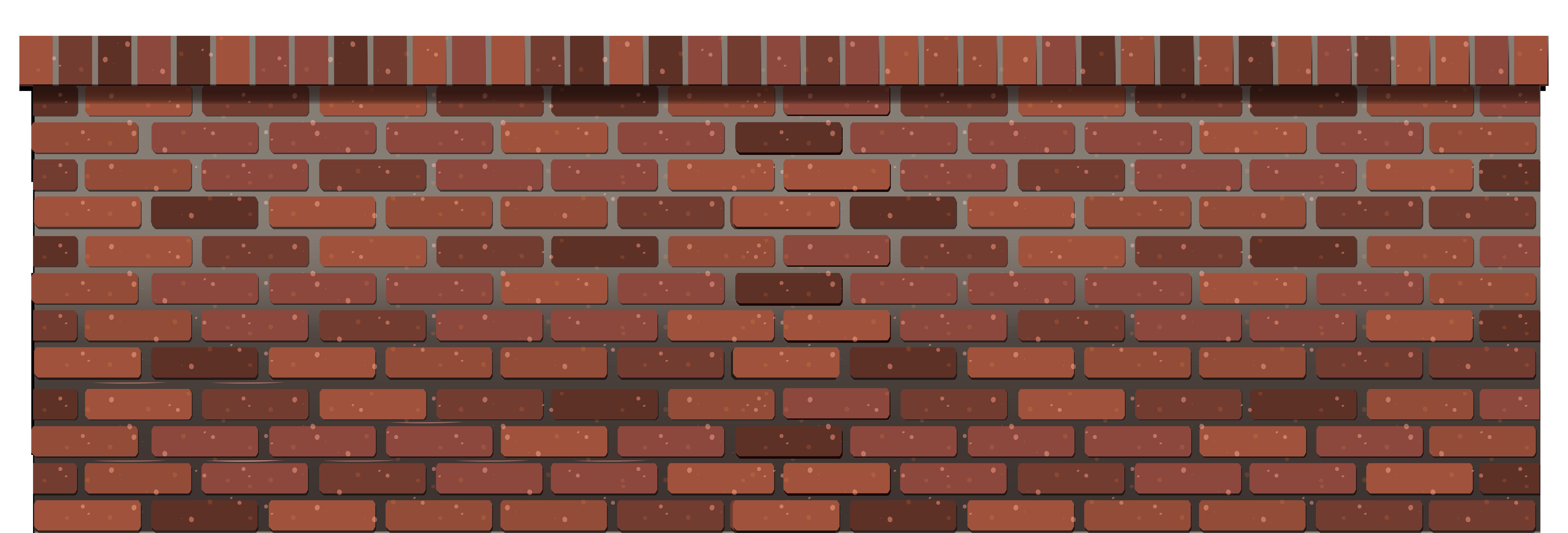 Brick Fence Wall Png image #39826 - Brick PNG
